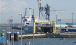 RoRo-Autoverladung in Cuxhaven